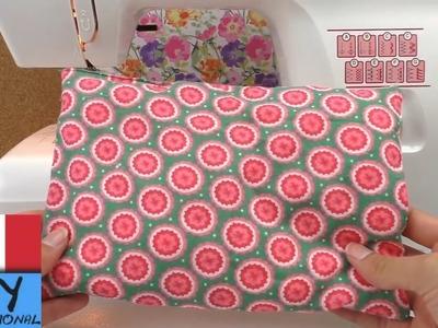 Spiegazione come cucire un cuscino | cucire con la macchina da cucito | Spiegazione per principianti