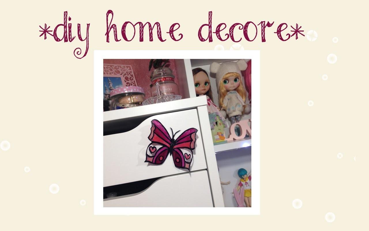 *DIY HOME DECOR* Farfalle Adesive | Elena Dreamer