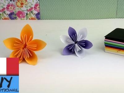 Origami fiori facili - Piegare fiori origami. Bellissimi fiori per la primavera