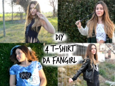 DIY  4 T-Shirt da Fangirl | Gloria White