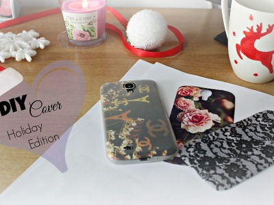 DIY Cell Phone Case ❅ Holidays Edition