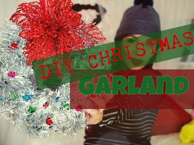 DIY Christmas garland || HOME DECORE | Ziky