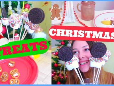 DIY Christmas Treats! ! #WinterWithWhite | Gloria White
