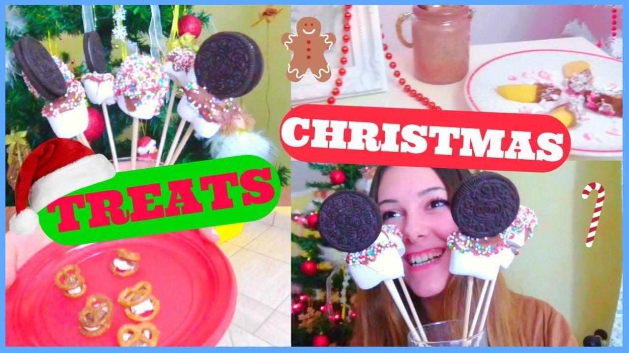 DIY Christmas Treats! ! #WinterWithWhite | Gloria White
