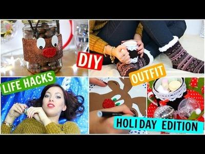 DIY Holiday Gift Ideas, Life Hacks ☆ Christmas 2015 ☆