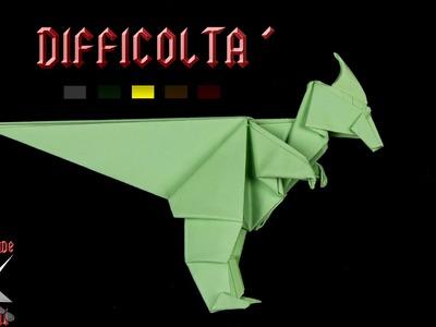[ORIGAMI ITA] Dinosauro (Bebè Parasaurolopus - Fernando Gildado Gòmez) || Animali.Draghi.Complessi