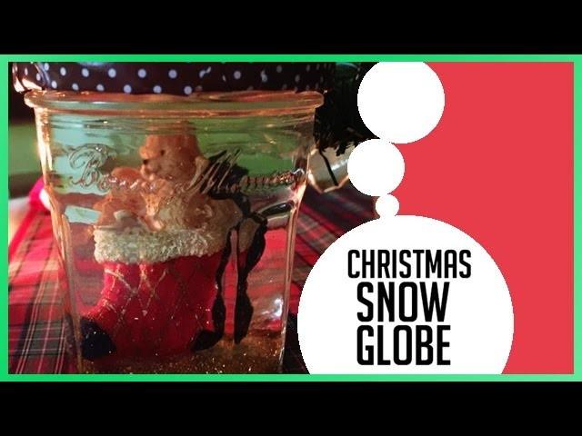 ❅ CHRISTMAS SNOWGLOBE | DIY ❅