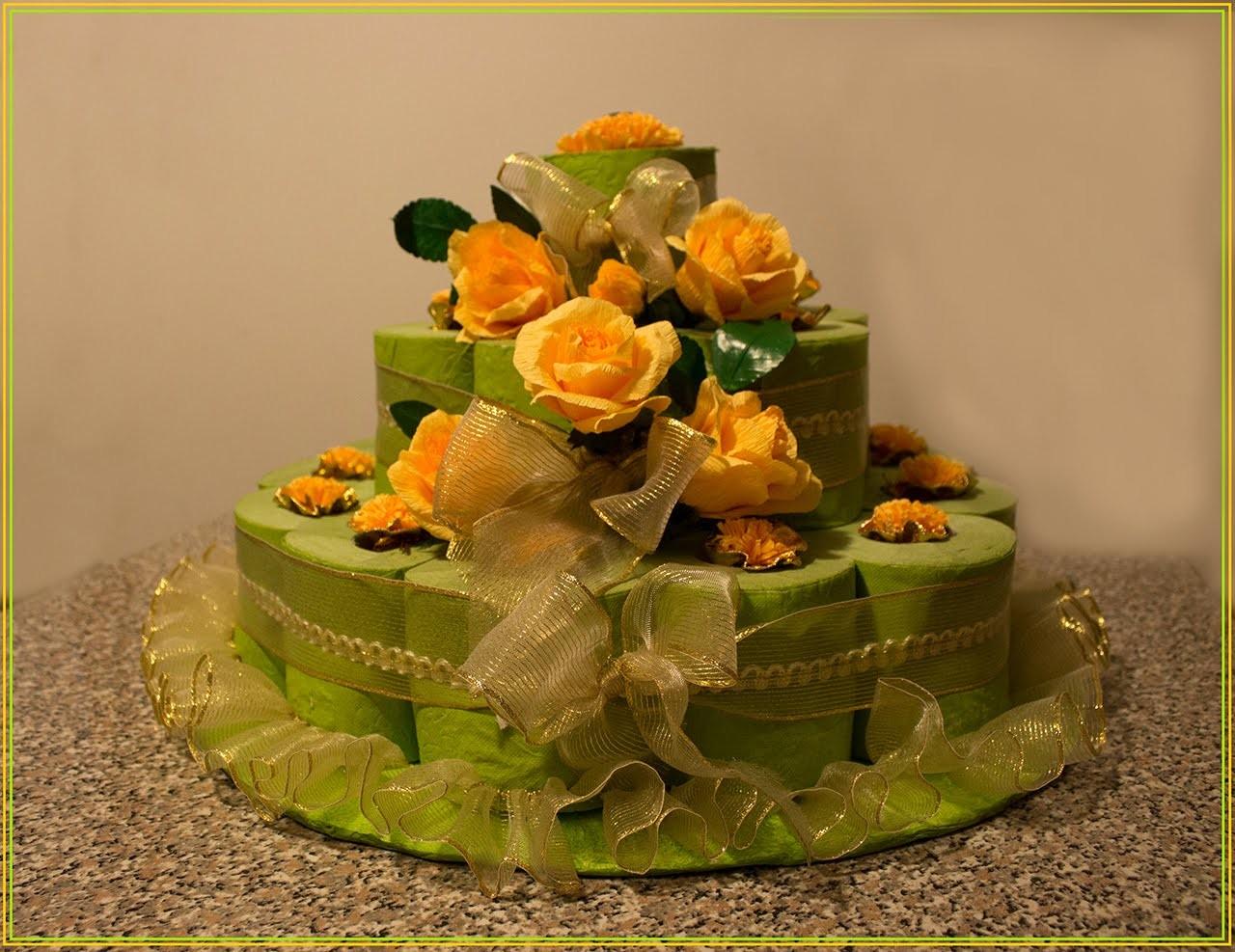 DIY: Torta di Compleanno • Riciclo Creativo • Happy Birthday to you!