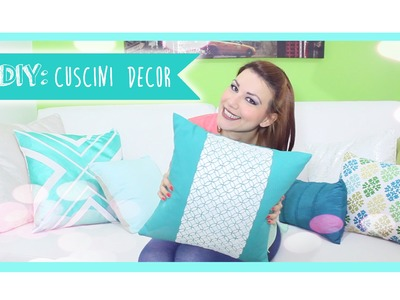 HOME&DECOR: DIY cuscini Maison du Monde Inspired ♥