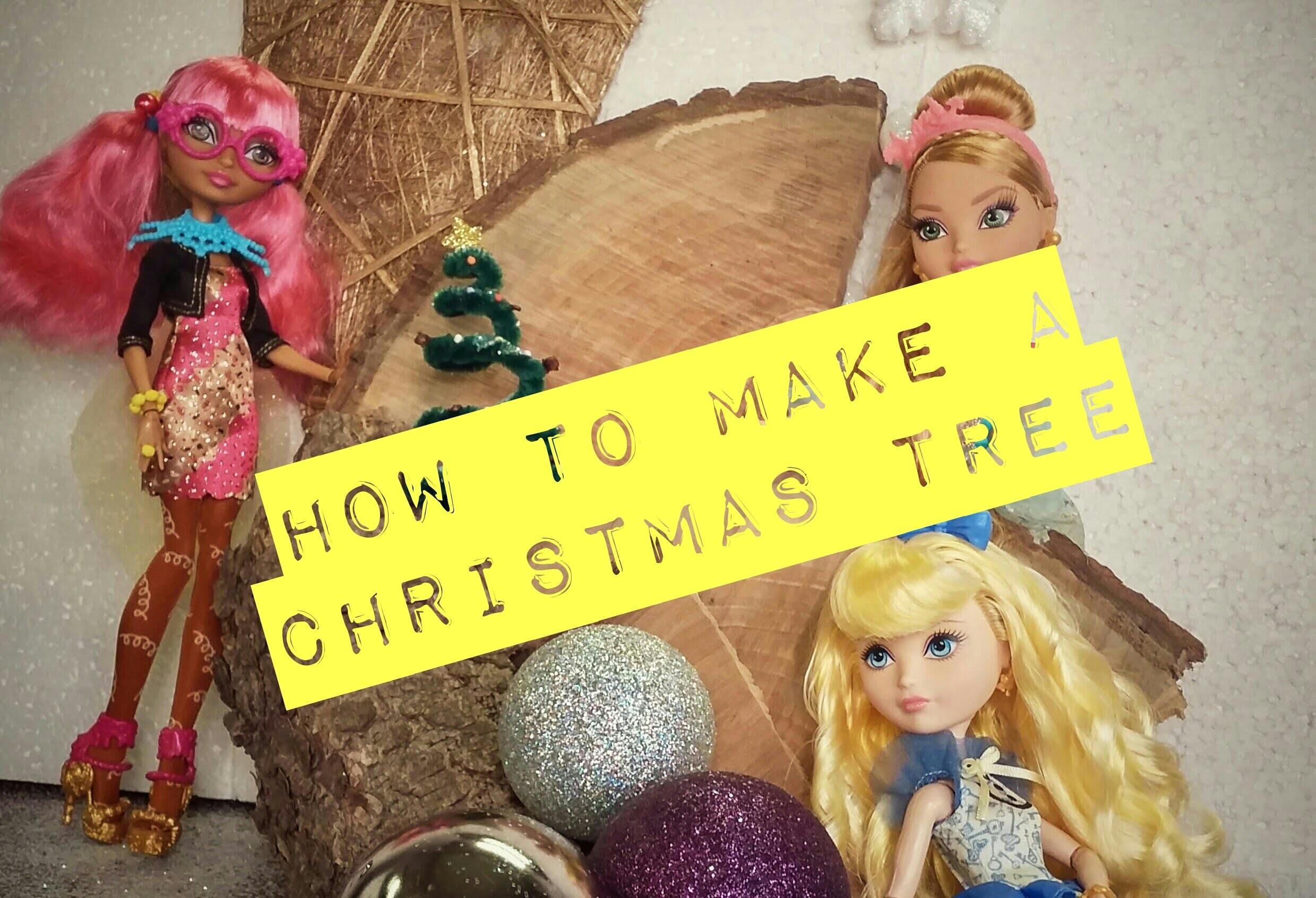 TUTORIAL - How To Make a Christmas Tree [ DIY ]