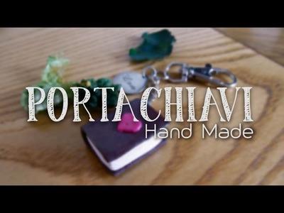 UN PORTACHIAVI LIBROSO ♡ [For very Booklovers ] #FaiDaTe • DIY