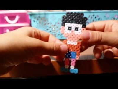 Le mie 10 creazioni 'HORROR' in pyssla - hama bead