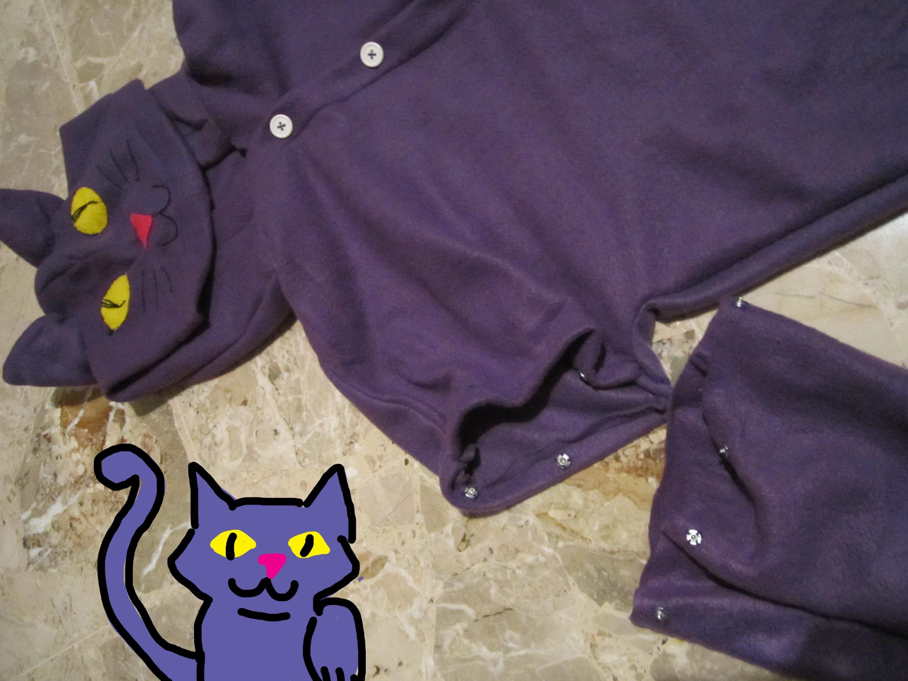 DIY pigiama tutone   costume cosplayer