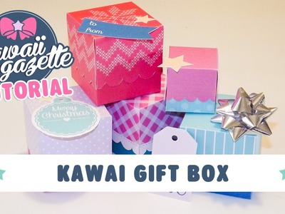 Kawaii Gift Box ~ Stampa, personalizza, regala! [Kawaii DIY]
