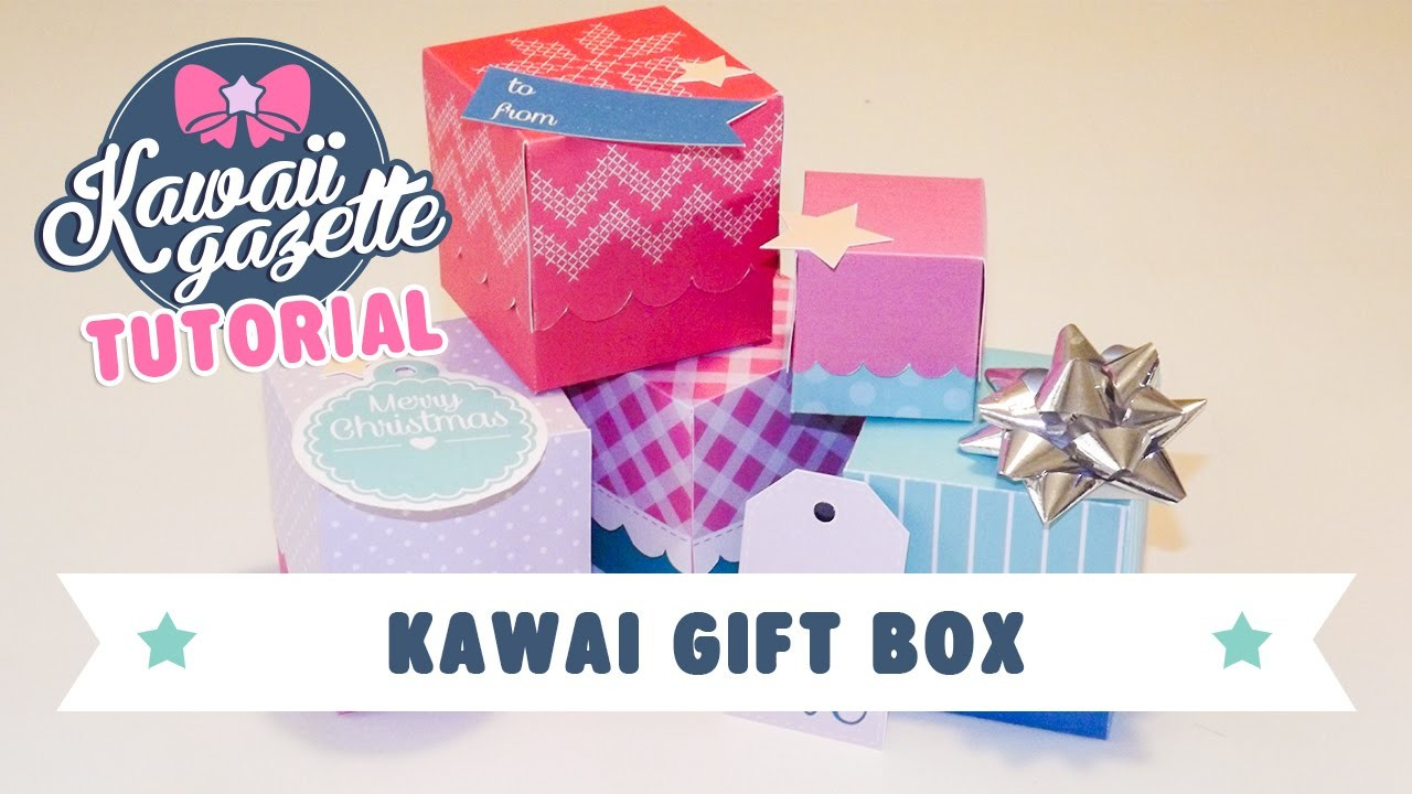 Kawaii Gift Box ~ Stampa, personalizza, regala! [Kawaii DIY]