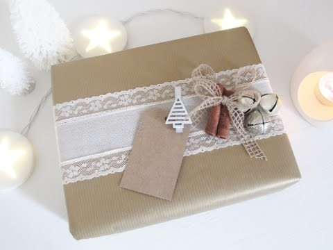 Pacchetti regalo di Natale - DIY Christmas  Packaging