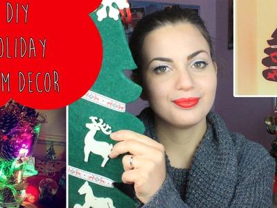 DIY Holiday Room Decor ♡ Decorazioni natalizie fai da te