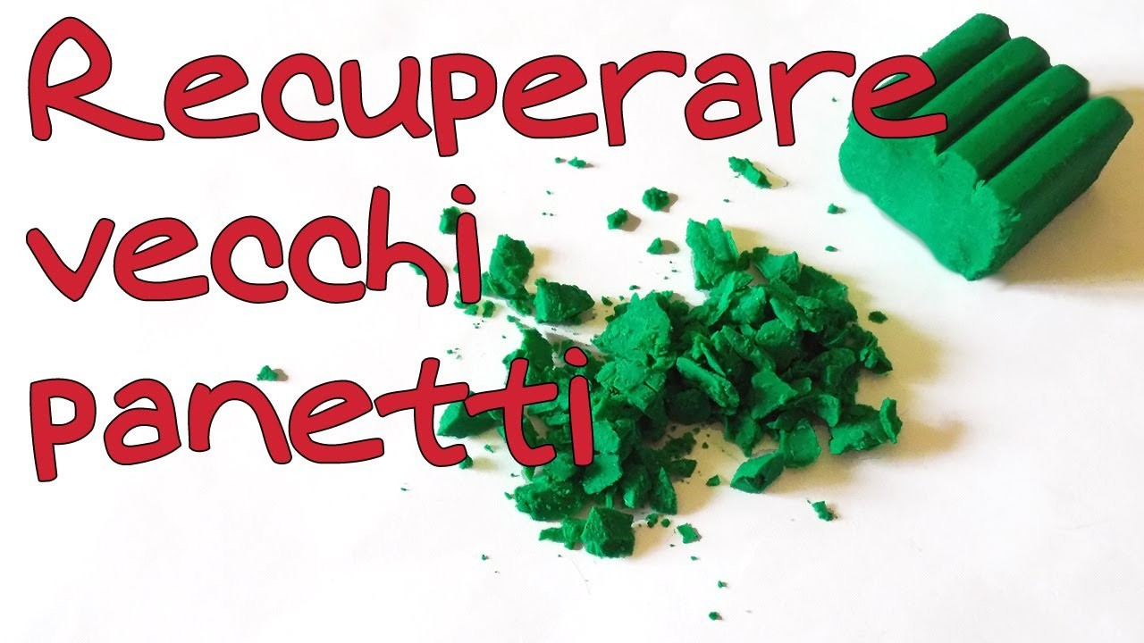Tutorial Come recuperare la pasta troppo vecchia - How to condition hard or old clay