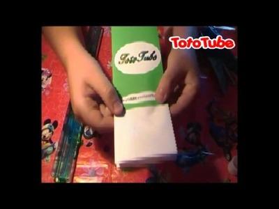 1° TUTORIAL | Come realizzare un sacchetto di carta |