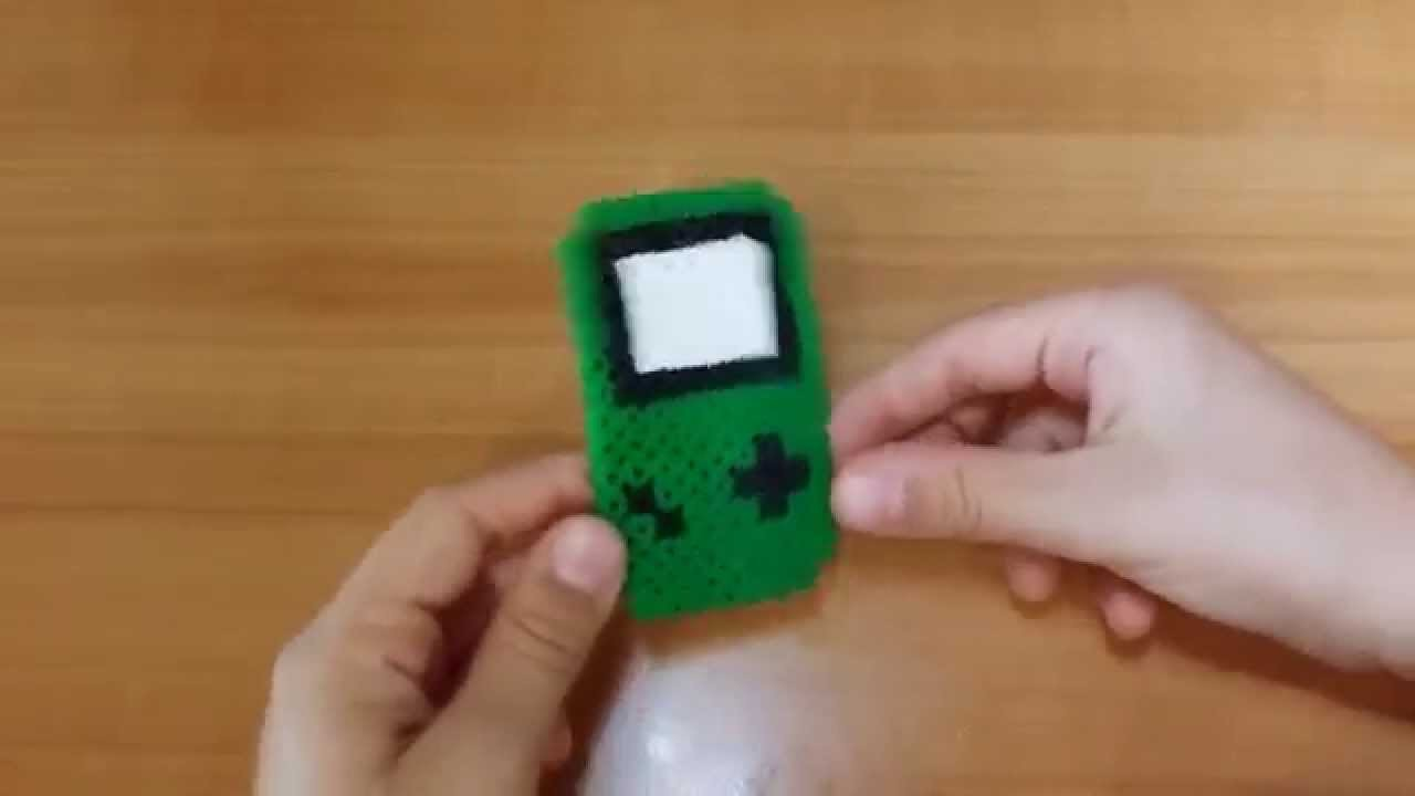 Tutorial Game Boy con le pyssla  - hama beads  !!