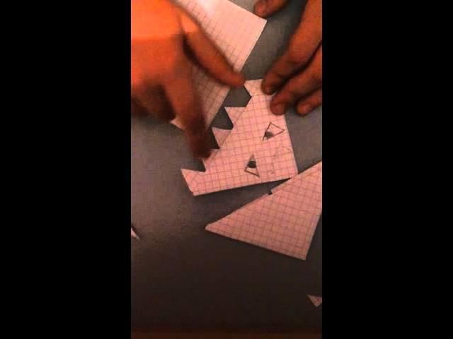 Tutorial segnalibro origami