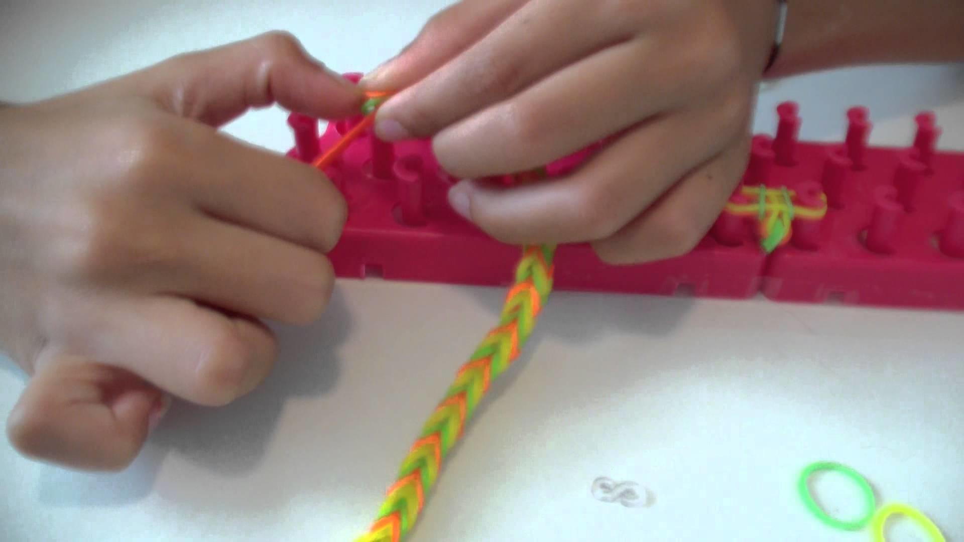 Tutorial creazione braccialetto doppio