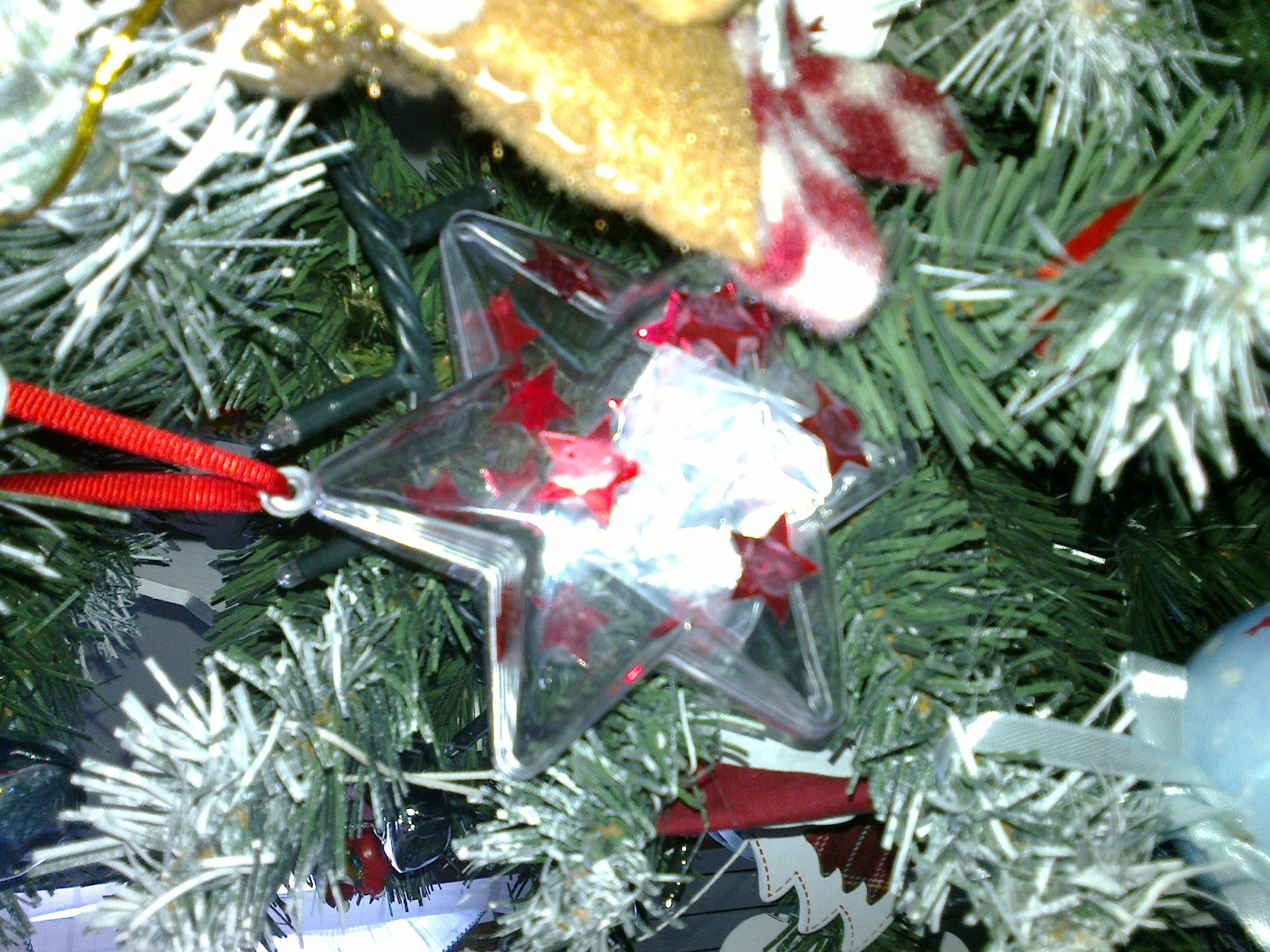 Accessorio per albero di Natale con sorpresa (tutorial)