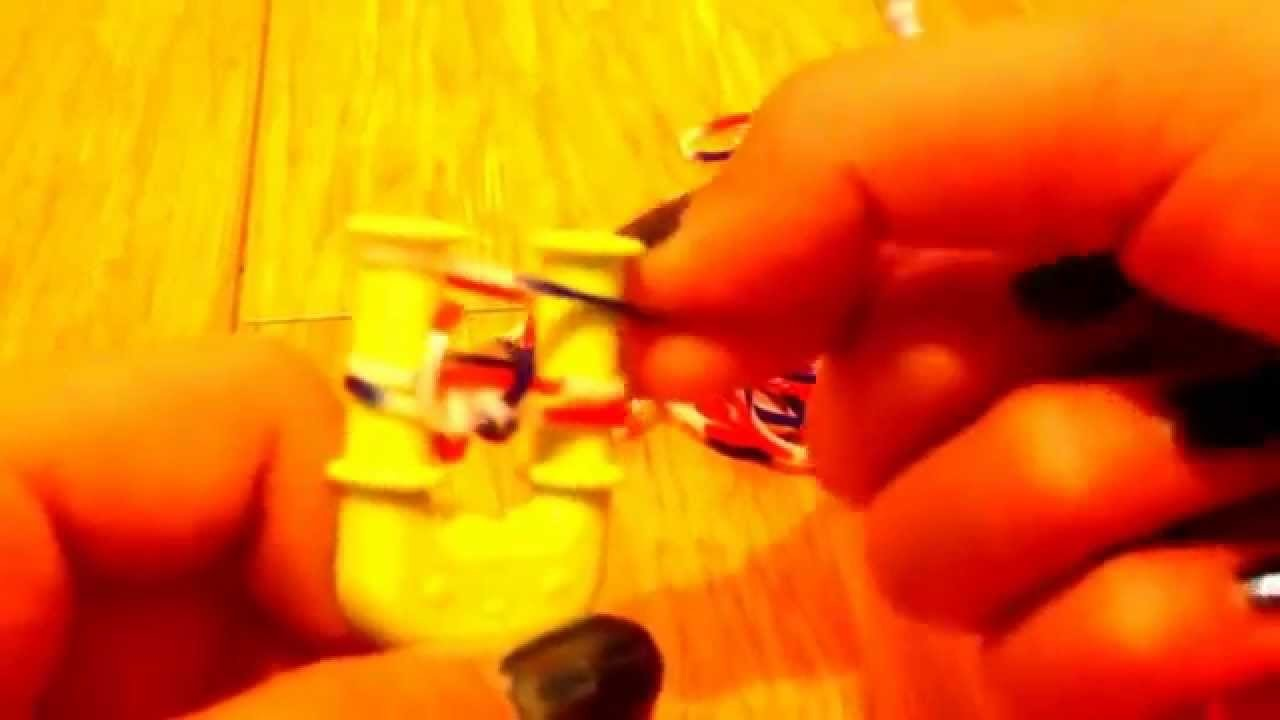 Come creare un braccialetto doppio con gli elastici - tutorial #1