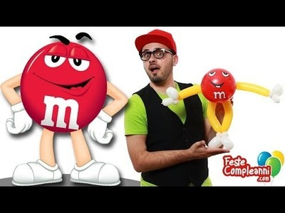 M&M's Balloon Art - Palloncini Modellabili - Tutorial 107 - Feste Compleanni