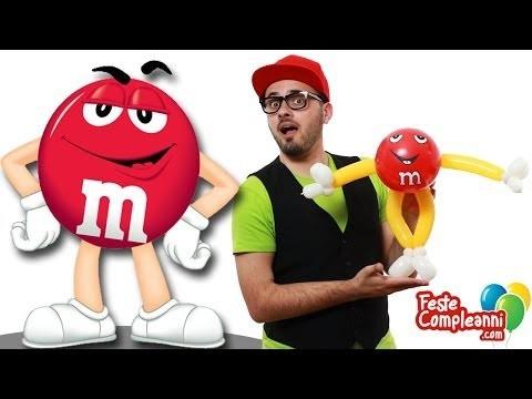 M&M's Balloon Art - Palloncini Modellabili - Tutorial 107 - Feste Compleanni