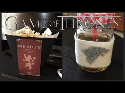 Game of Thrones DIY: popcorn e avvolgitazza | Chibiistheway