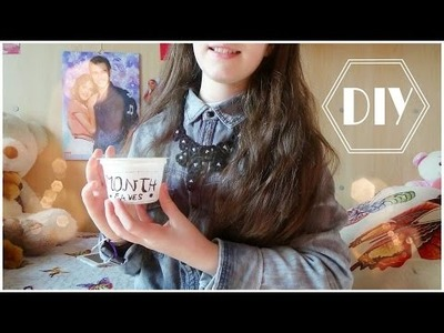 HOW TO ♥ DIY : CUTE JAR ||Lau's Channel04