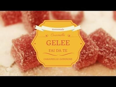 DIY natalizio: Caramelle Gommose Gelèe Fai da Te | Ricetta facile