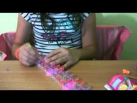 Tutorial:come fare il braciale zig-zag chain con i loom bandz