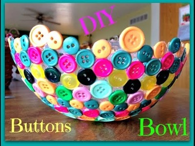 ●DIY Buttons Bowl ●