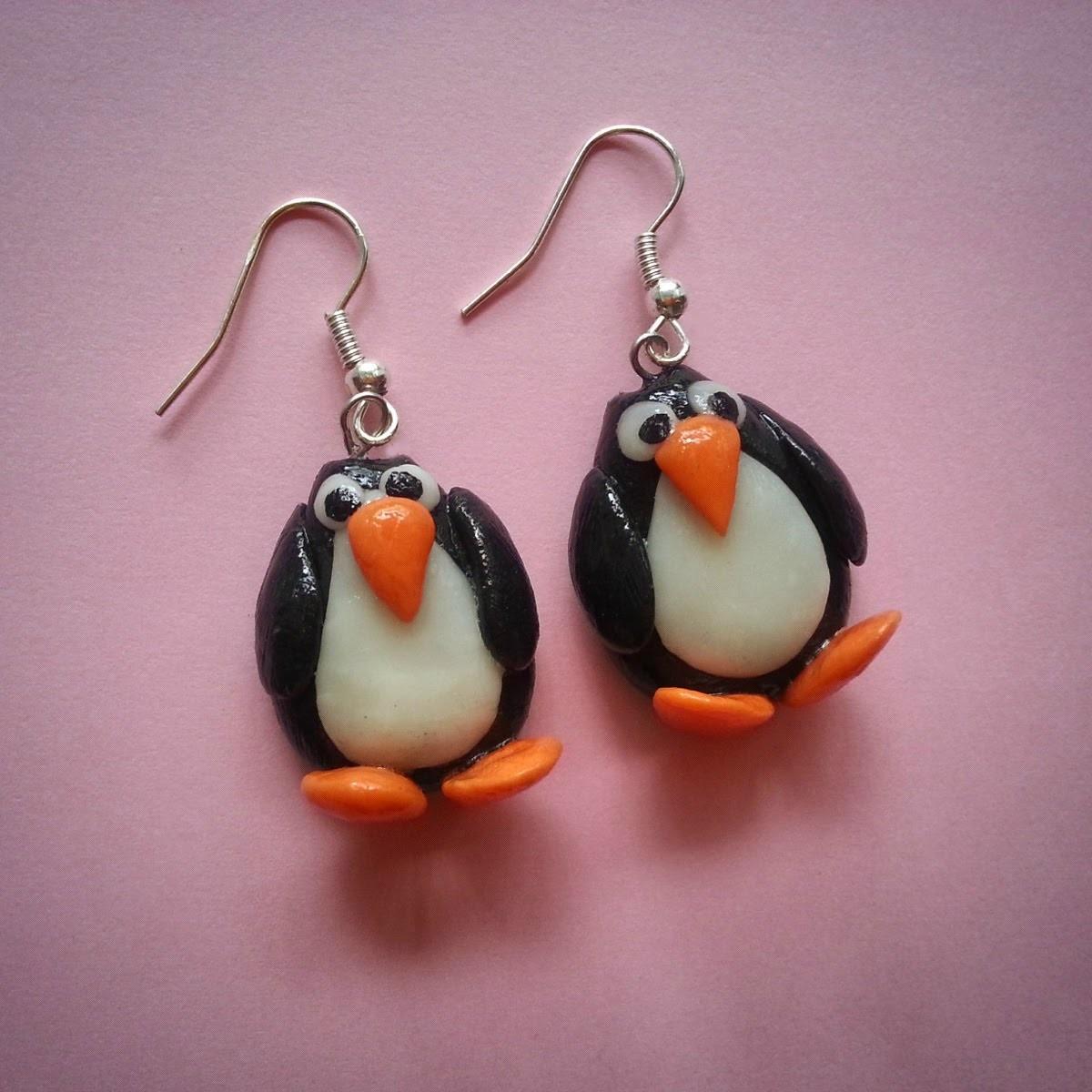 Tutorial - Orecchini pinguini ^_^