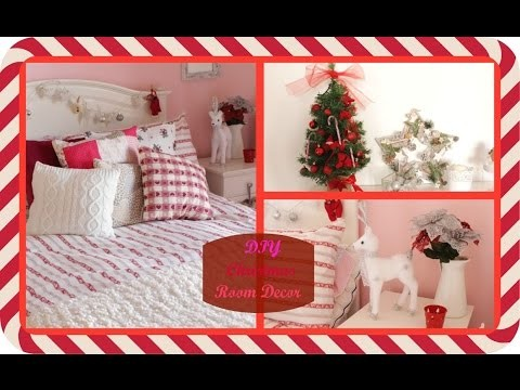 DIY CHRISTMAS ROOM DECOR ! | Je suis Katia
