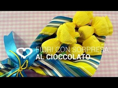 Tutorial: Come realizzare dei fiori con sorpresa al cioccolato - La Figurina