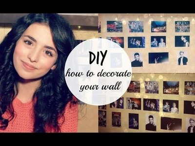 DIY : HOW TO DECORATE YOUR WALL ♡ │giuliatroubles