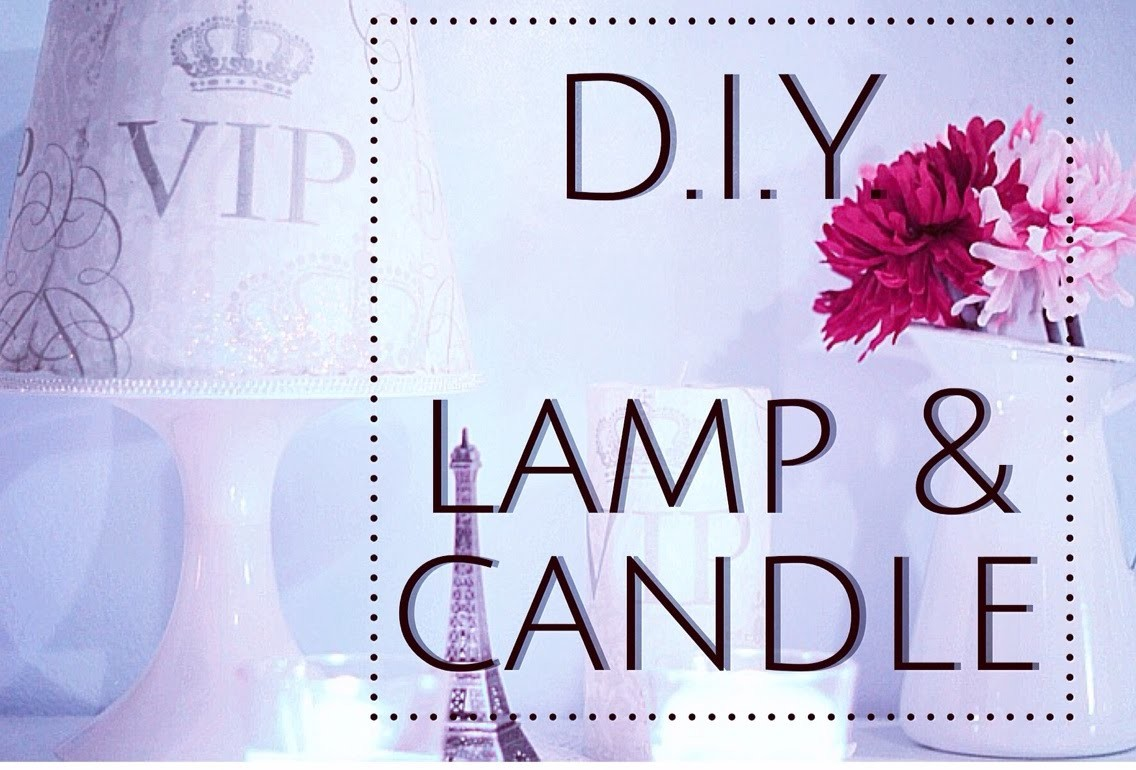CANDELA & LAMPADA SHABBY | Idee creative DIY