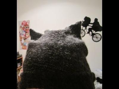DIY cappello con orecchie da gatto