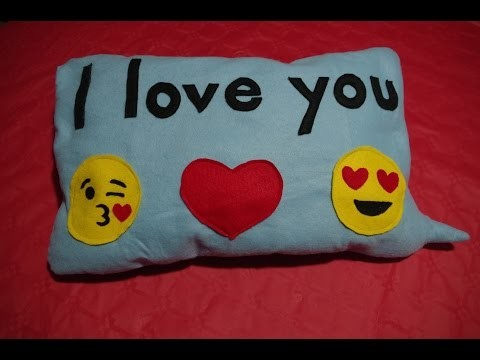 "DIY- CUSCINO ""Leave a message""