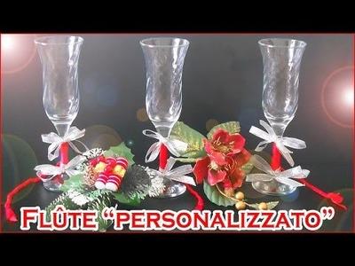Happy Holidays! DIY - Flûte personalizzati per un brindisi speciale! | AleLifeStyle