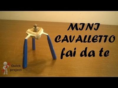 Come costruire un semplice cavalletto per videocamere con 3 vecchi rasoi - DIY camera easel