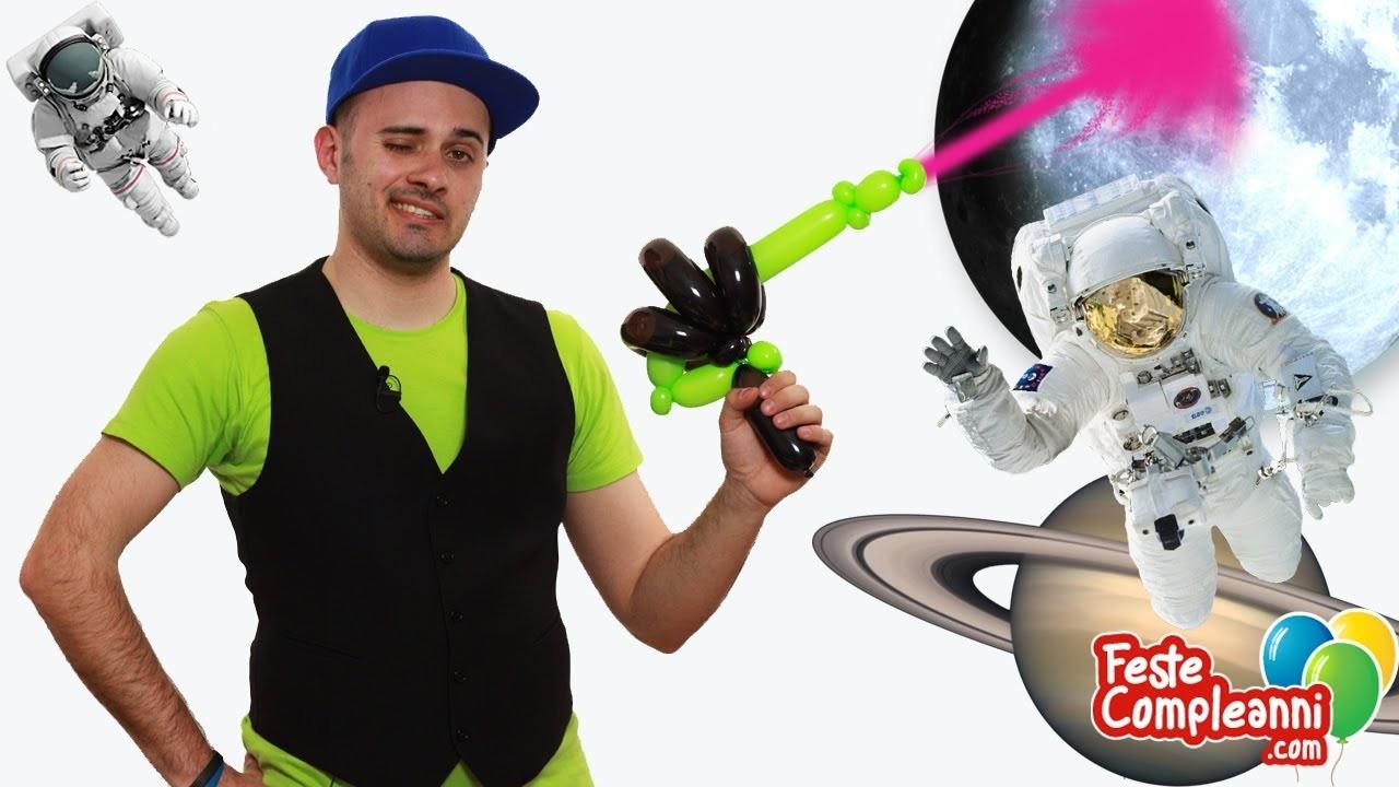 Balloon Space Gun - Palloncino Pistola Laser - Tutorial 97 - Feste Compleanni