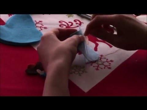 DIY: Tutorial realizzazione Madonna e Gesù bambino in feltro