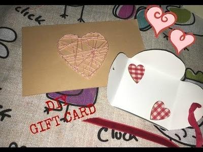 San Valentino : DIY cartoline regalo