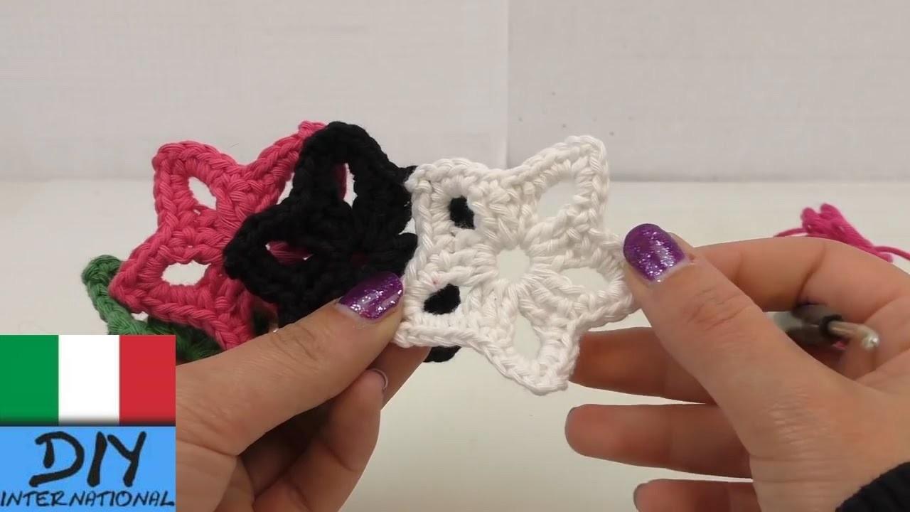 Stelle ad uncinetto - Istruzioni crochet per principianti