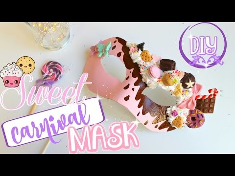 Sweet Carnival Mask! DIY ♥