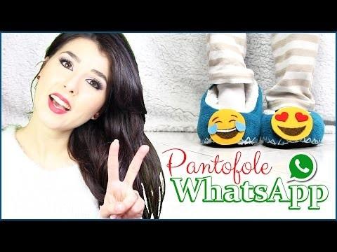 DIY Pantofole WhatsApp con simpatiche Emoji • gift idea regalo • Marisa'Style